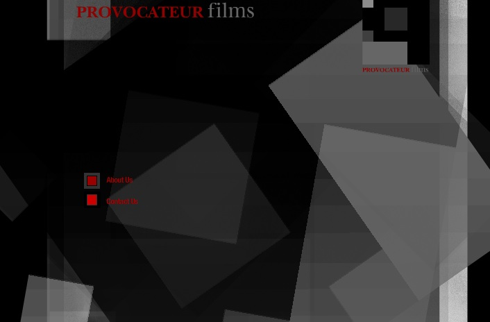 Splash Page: Provocateur