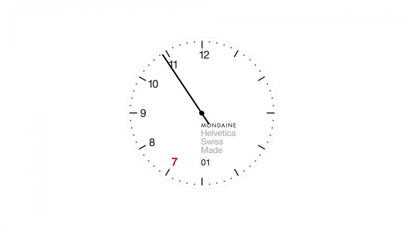 Mondaine Countdown